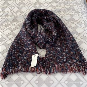 Lucky Brand Scarf and Gloves Set Womens One Size Maroon New with Tags Long Scarf